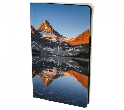 Morning Glow notebook by Mountain Moves - front cover