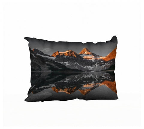 Morning Glow pillow by Mountain Moves
