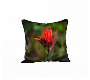 Painted Beauty pillow by Mountain Moves