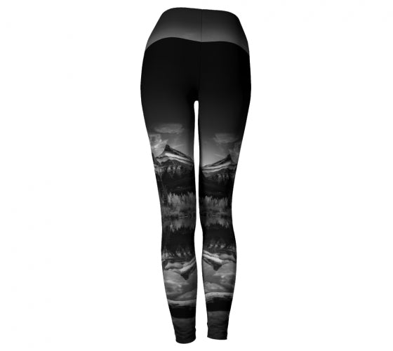 Reflecting Sisters leggings by Mountain Moves - back