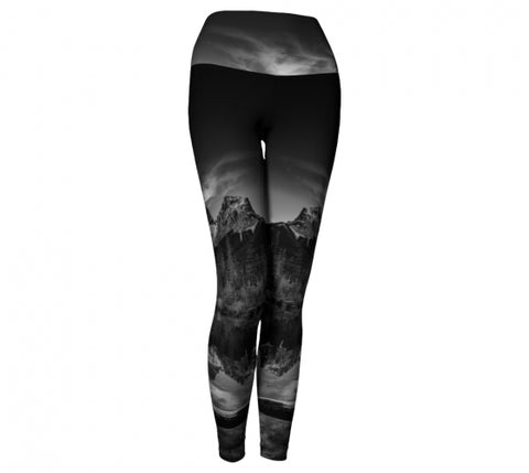 Reflecting Sisters leggings by Mountain Moves - front