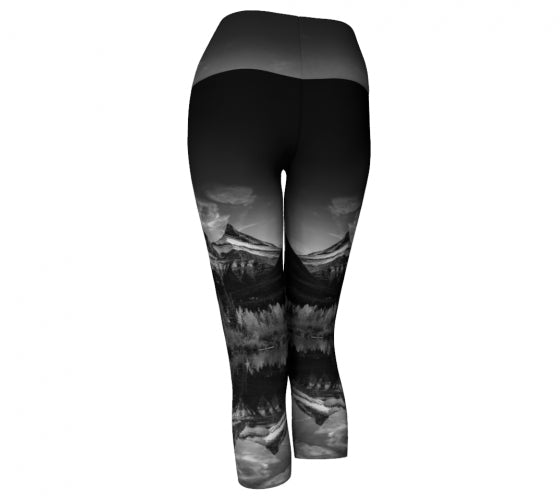 Reflecting Sisters capris by Mountain Moves - back
