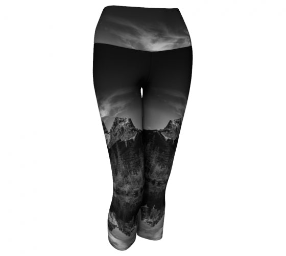 Reflecting Sisters capris by Mountain Moves - front
