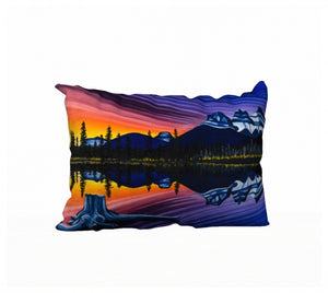 Reflecting on Sisterhood pillow by Mountain Moves