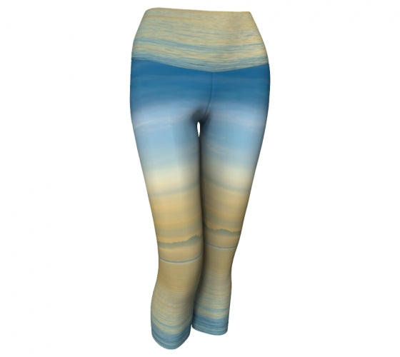Sea of Calm capris by Mountain Moves - front