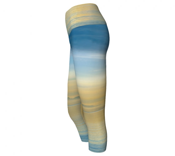 Sea of Calm capris by Mountain Moves - side