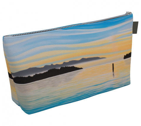 Sea of Calm makeup bag by Mountain Moves