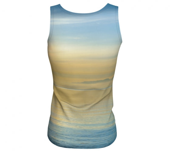 Sea of Calm tank top by Mountain Moves - back