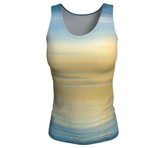 Sea of Calm tank top by Mountain Moves - front