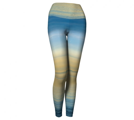 Sea of Calm leggings by Mountain Moves - front