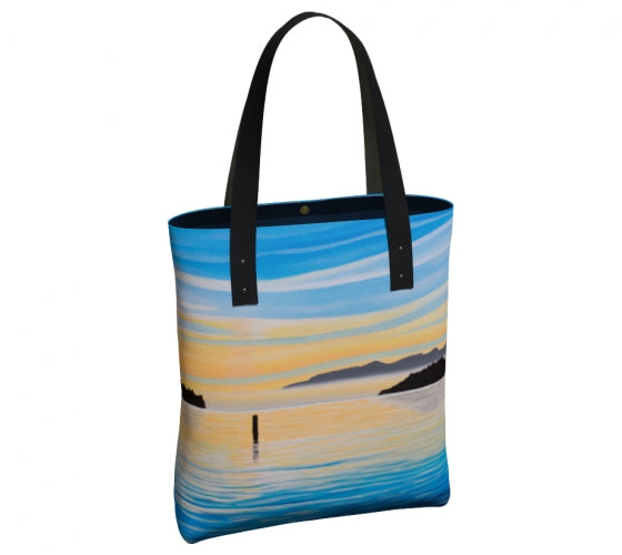 Sea of Calm urban tote bag by Mountain Moves