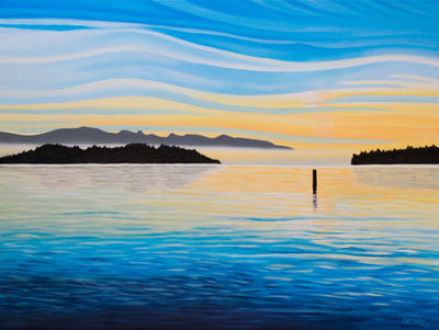 Sea of Calm Painting