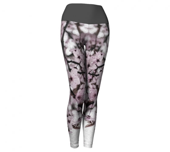 Serene Sakura Leggings
