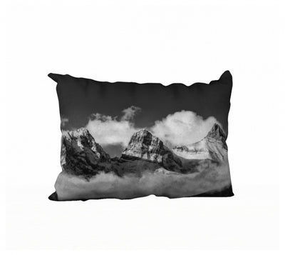 Sisters in the Clouds pillow by Mountain Moves