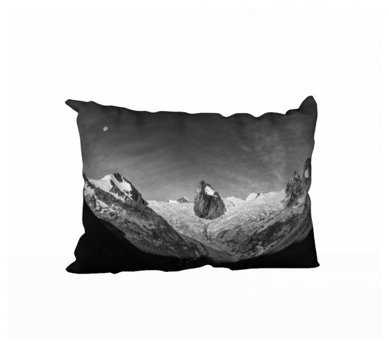 Spires of the Moon pillow by Mountain Moves