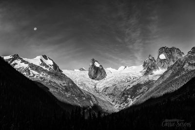Spires of the Moon Photograph