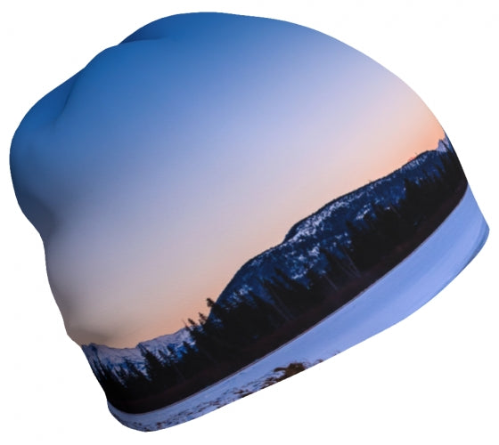 Sun Kissed Rundle toque by Mountain Moves - right side