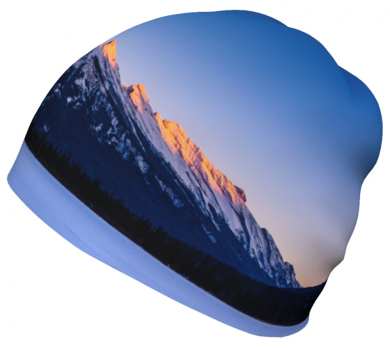 Sun Kissed Rundle toque by Mountain Moves - left side