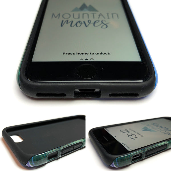 Raspberry Ripple Sunrise smartphone case by Mountain Moves - tough version
