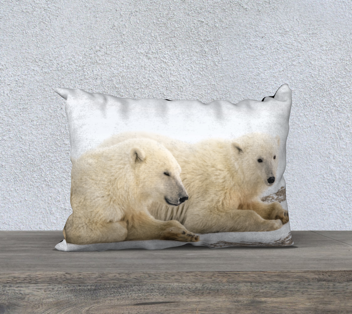 Tundra Twinsies Pillow