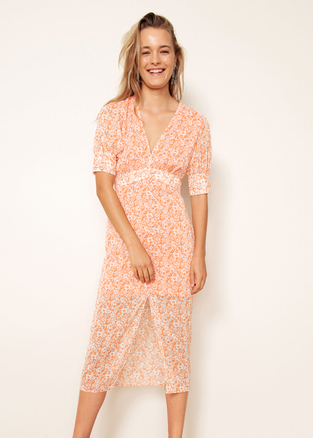 PEACHES MIDI DRESS