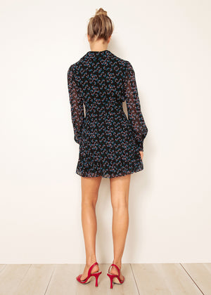 NILAYA L/S MINI DRESS