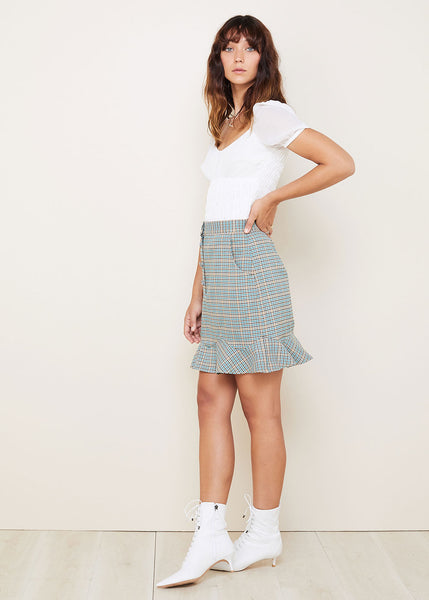 RIVER  MINI SKIRT