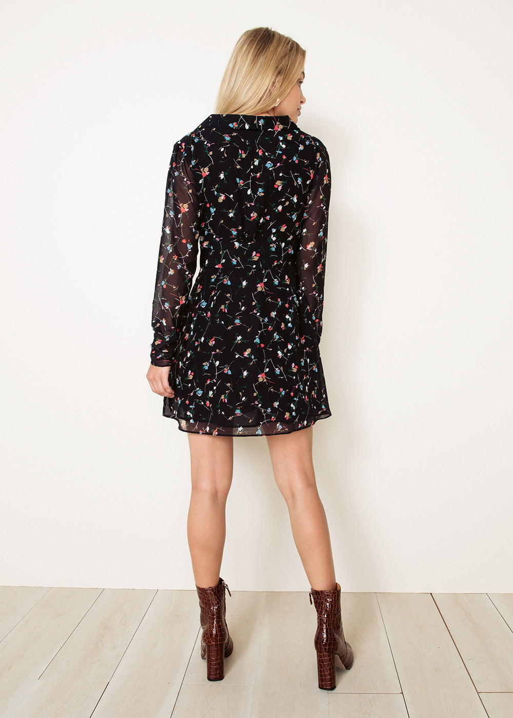 NEADA L/S MINI DRESS