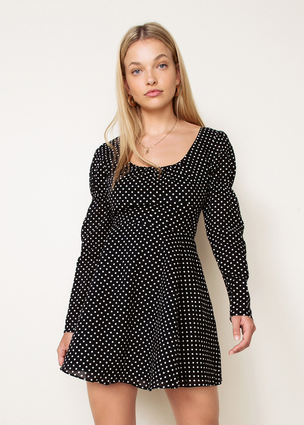 DOMINO MINI DRESS