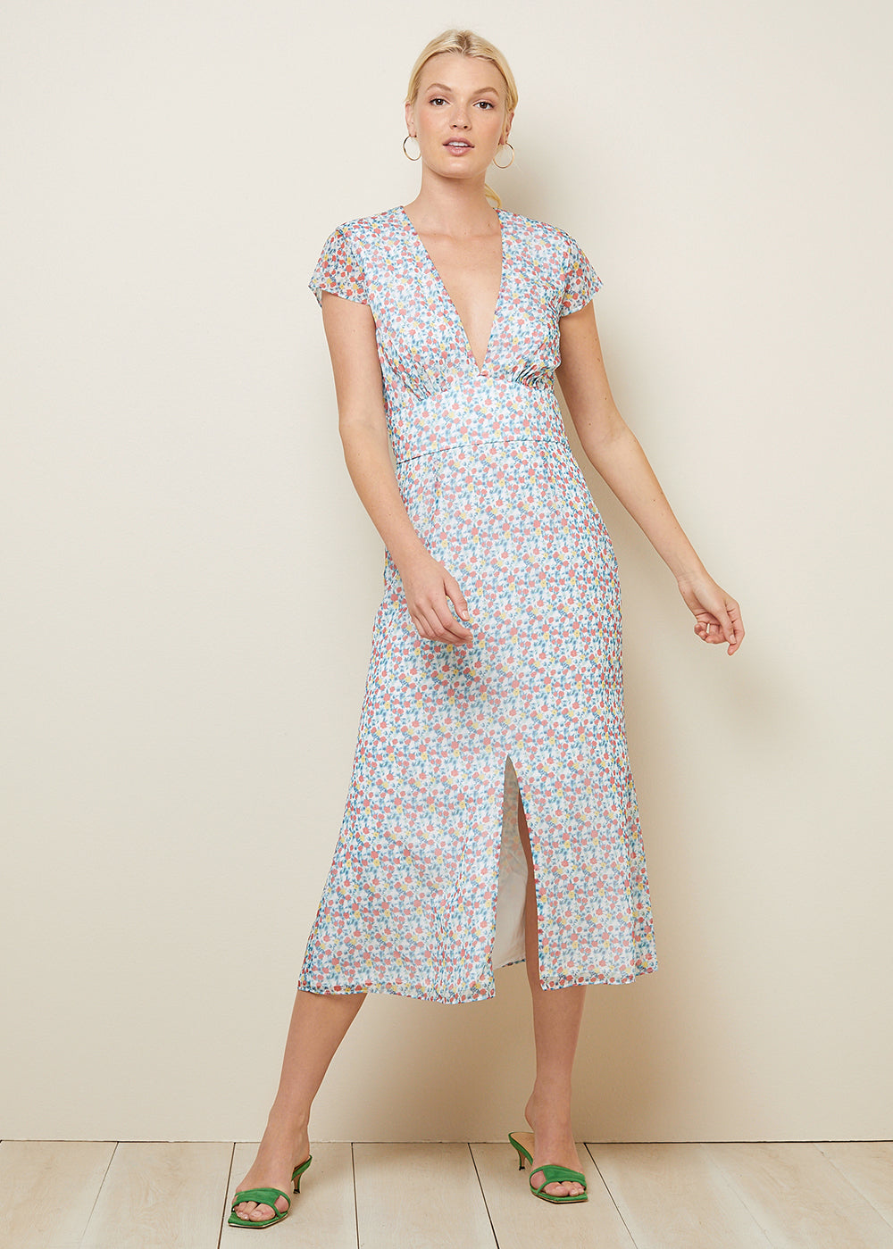 AUBREY MIDI DRESS