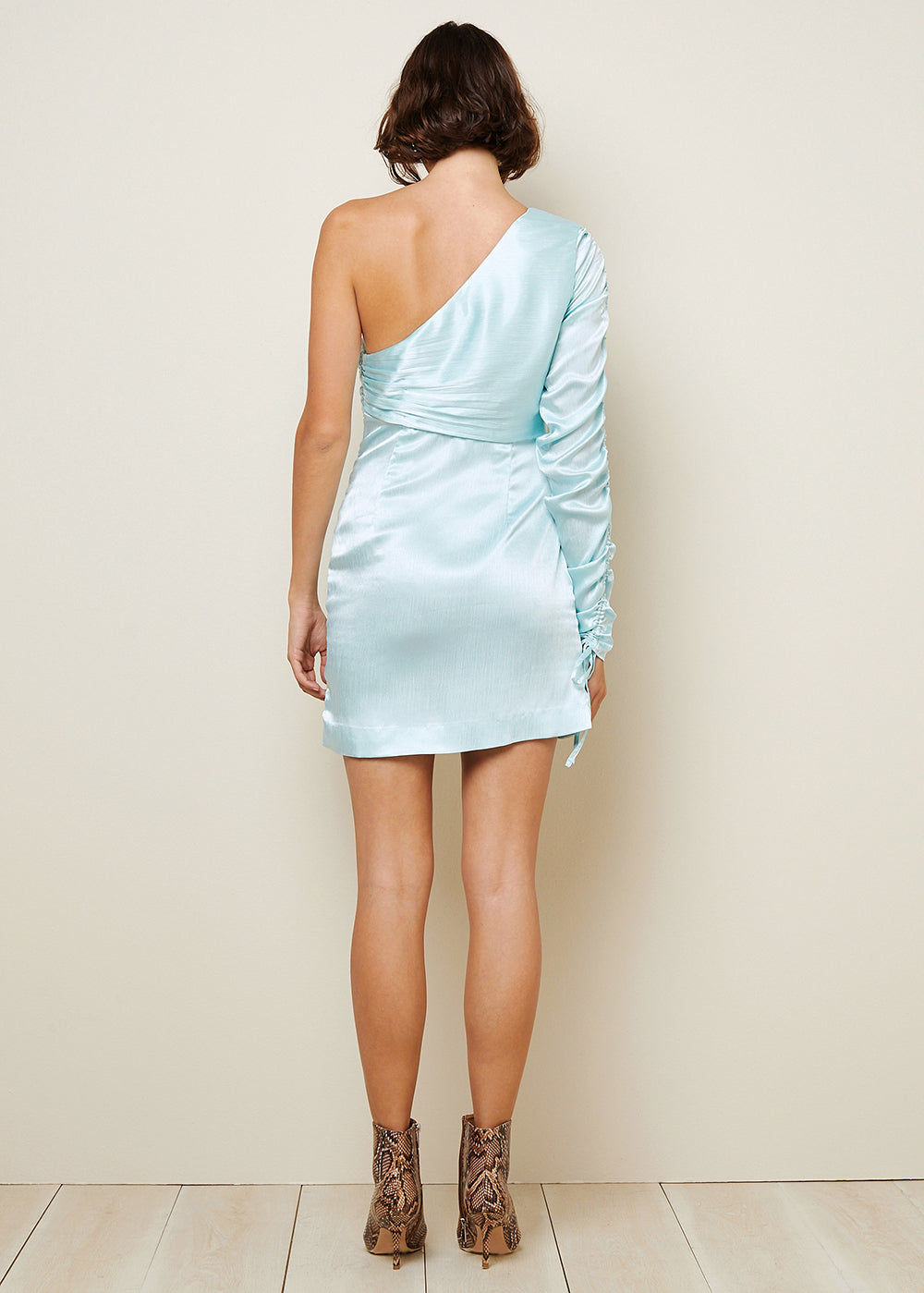 PAYTON ASYMMETRICAL MINI DRESS