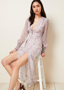 BETTY L/S MIDI DRESS