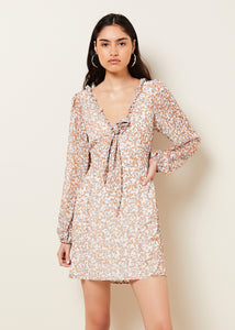 ABIGAIL L/S MINI DRESS
