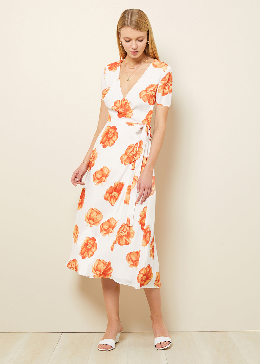 FRENCHIE MIDI DRESS