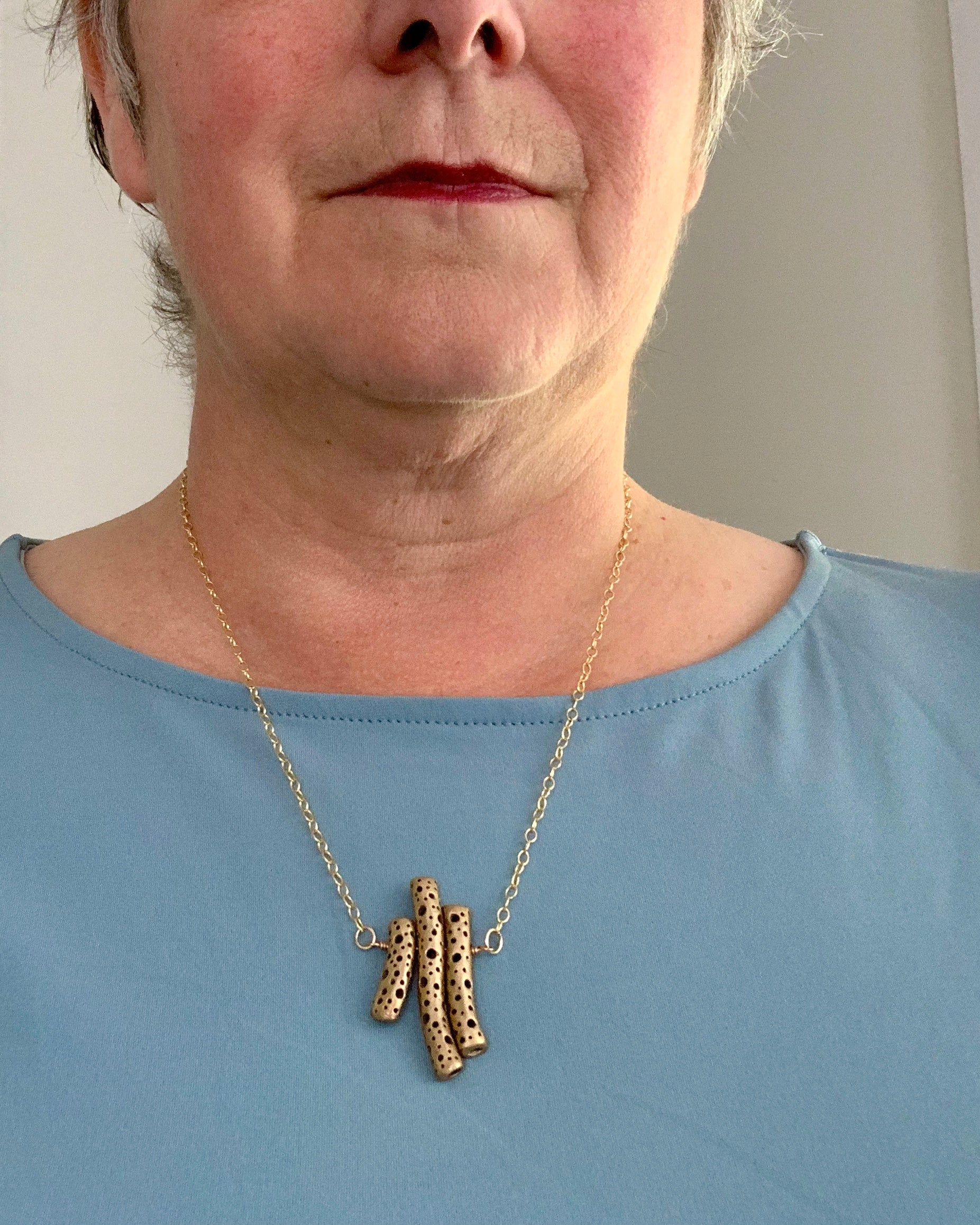 How to style an art {jewelry} necklace