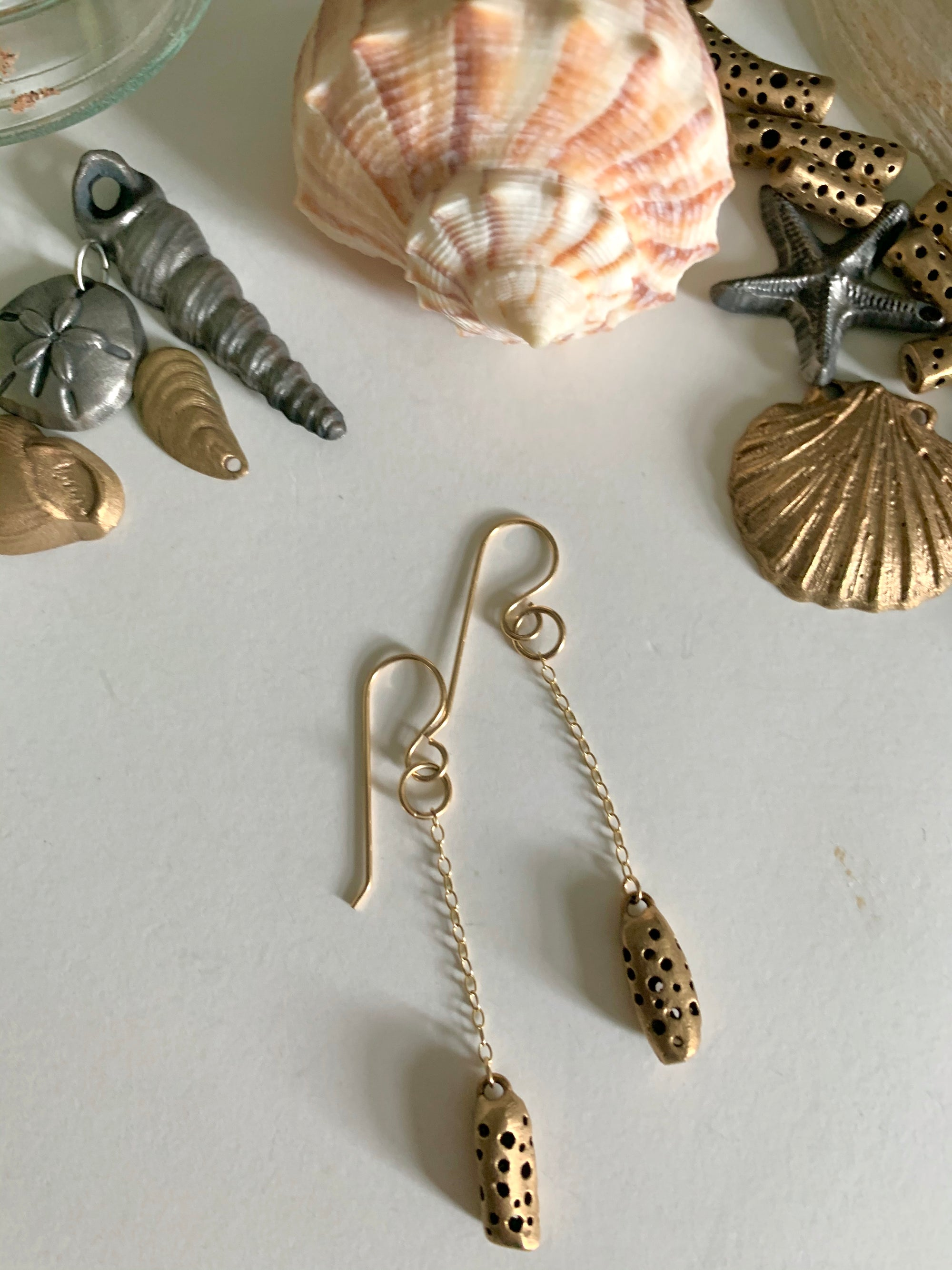 Favourite everyday {bronze} earrings