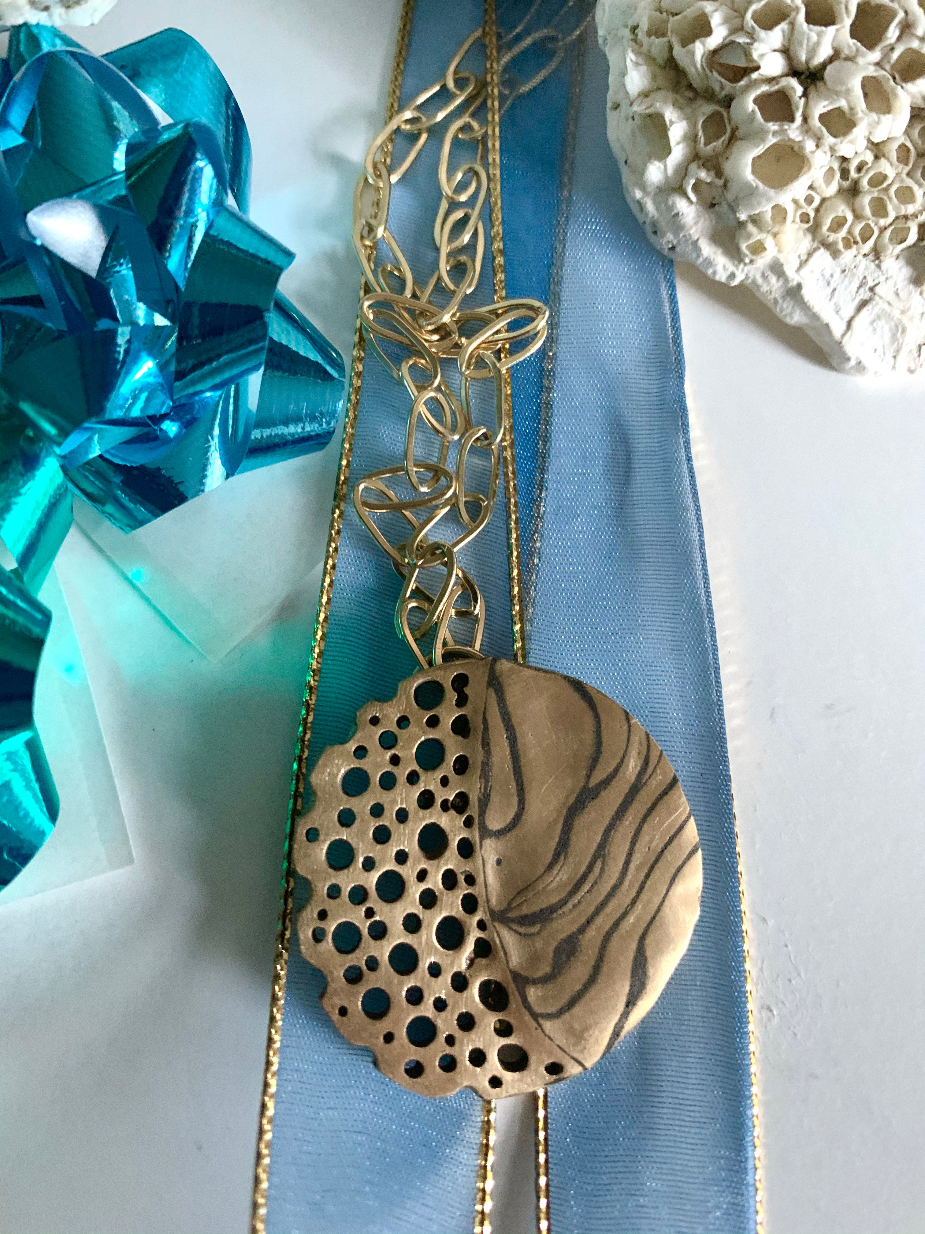 Coral inspired necklace for when you are dreaming of the beach