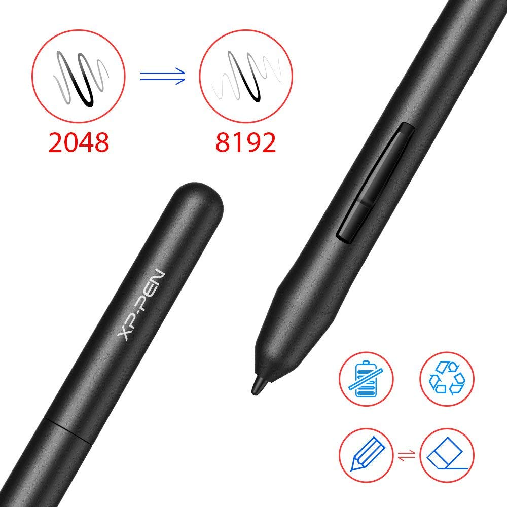XP-Pen G430S OSU Tablet Ultrathin Graphic Tablet 4 x 3 inch