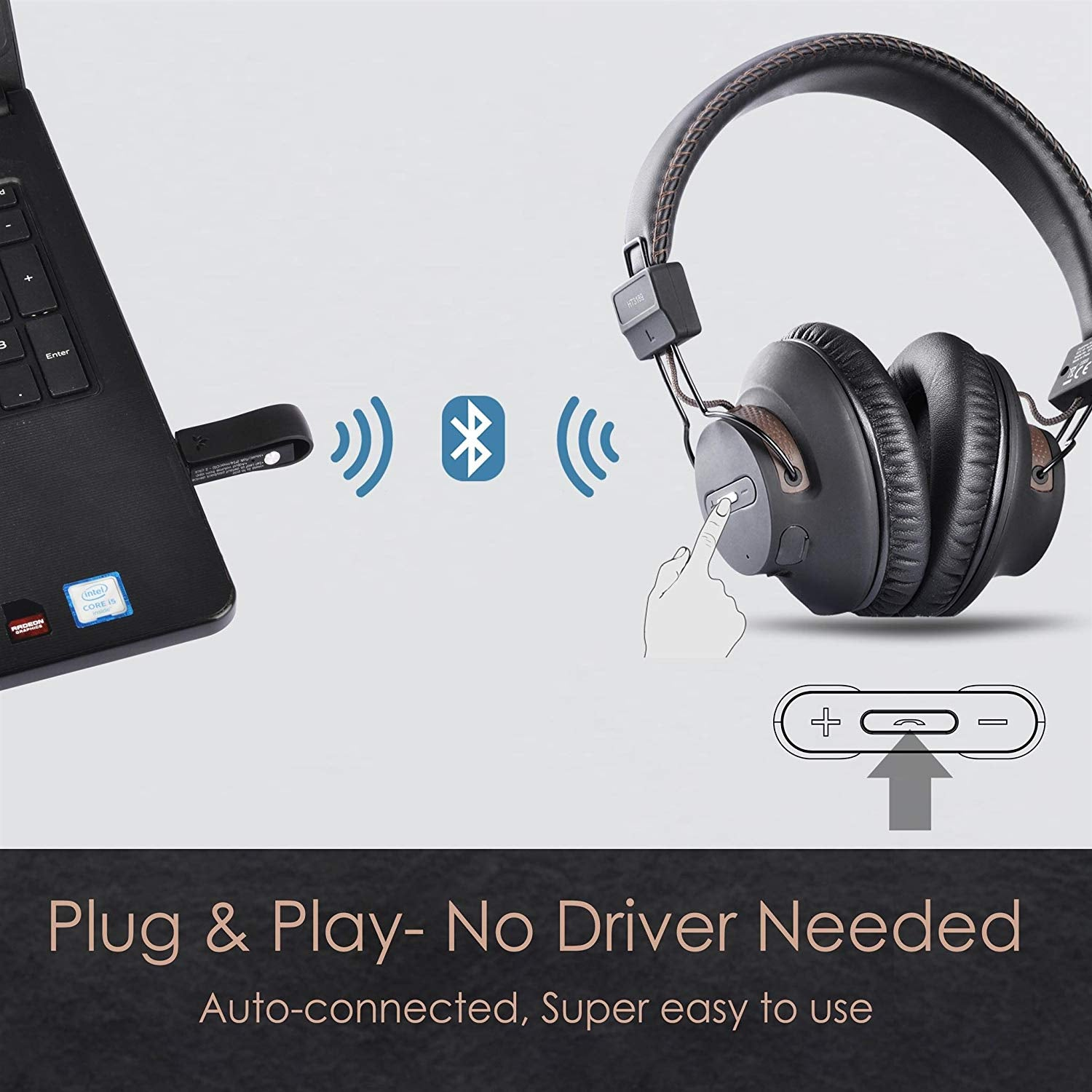 Avantree Dg59 Wireless Ps4 Gaming Headphones With Bluetooth Usb Audio The Gadget Collective