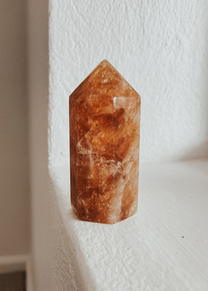 Aragonite Tower | Shop Polished Crystals Online at Finding Rosie