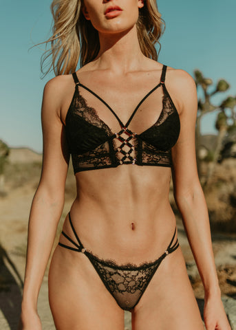 Constellation Longline Bralette