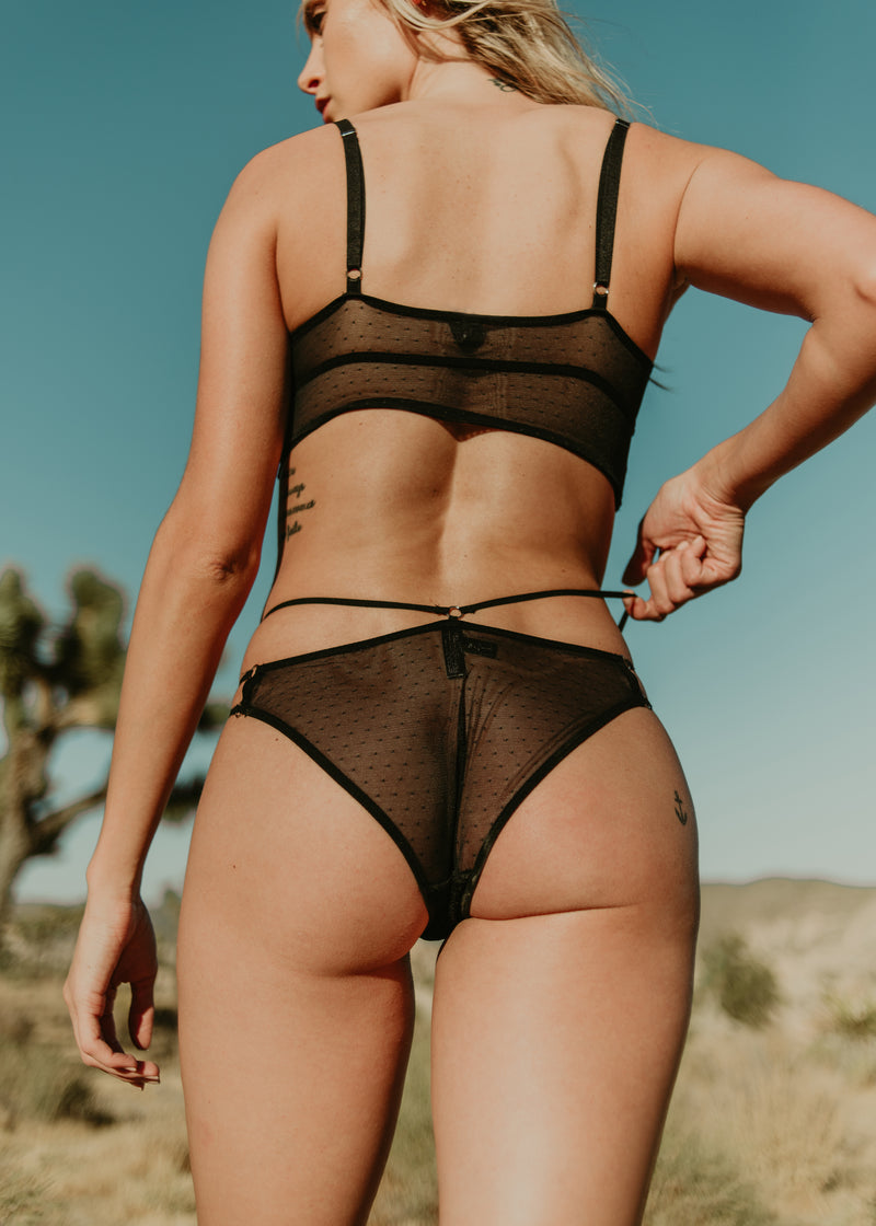Thistle & Spire Constellation Underwear | Buy Black Lace Underwear Online