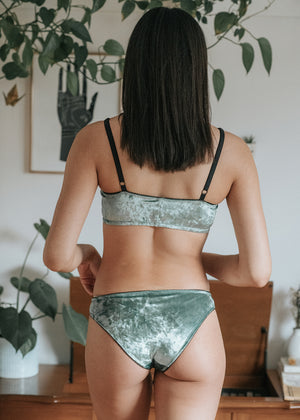Mermaid Soft Bralette | Velvet Underwear