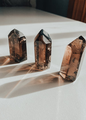 Polished Smoky Quartz Generator | Finding Rosie Rituals