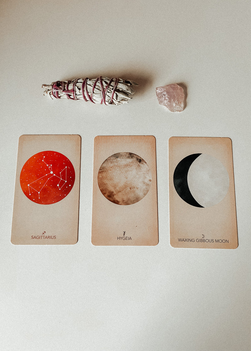 The Arcana of Astrology by Claire Goodchild | Oracle Cards