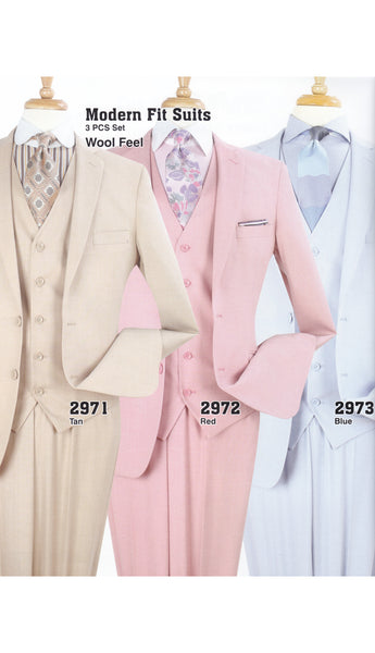 Men's High Fashion Suit 2971