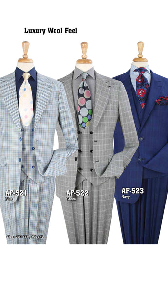 Men's High Fashion Suit AF-521