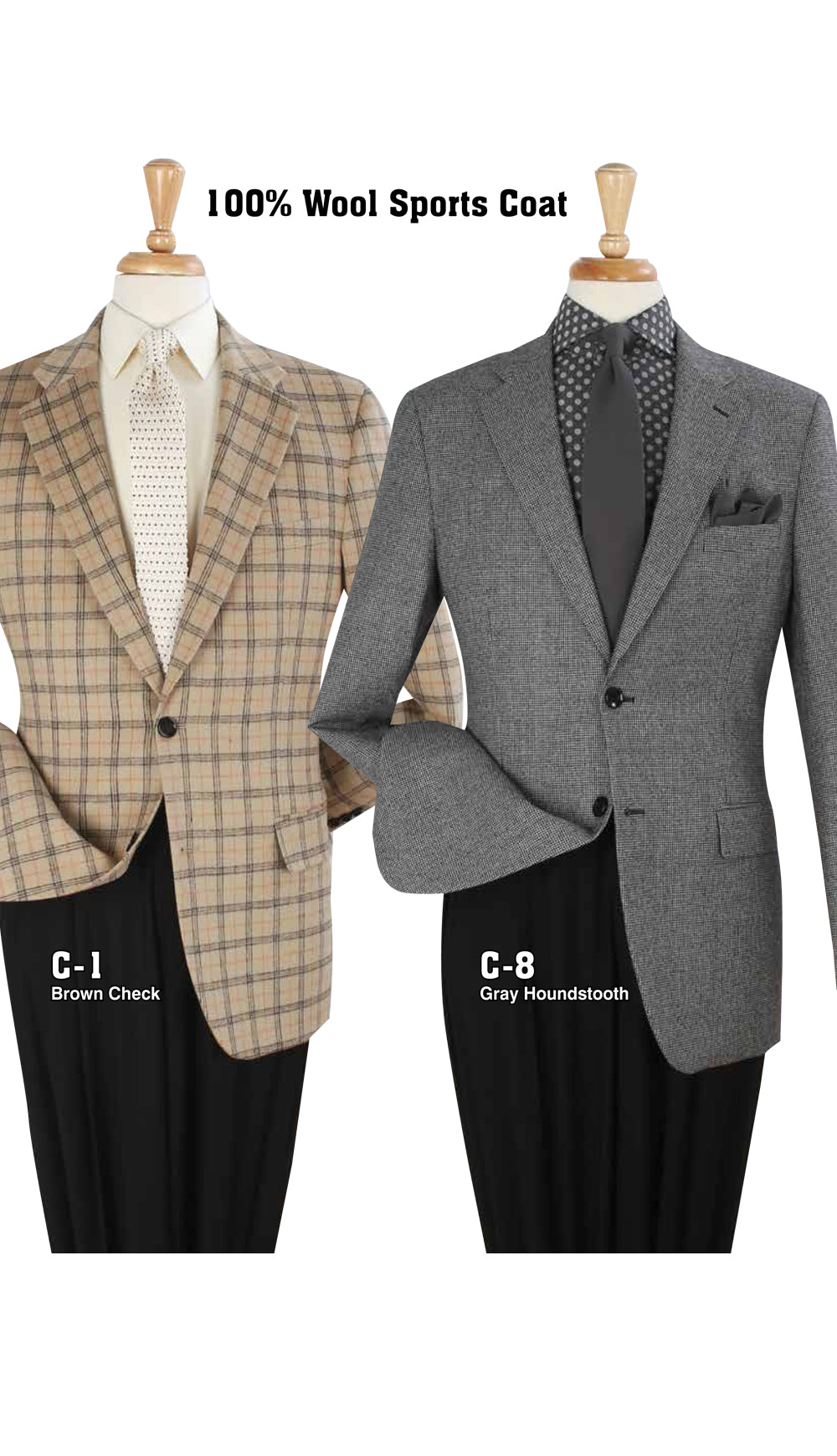 Men's High Fashion Sport Coat C-1