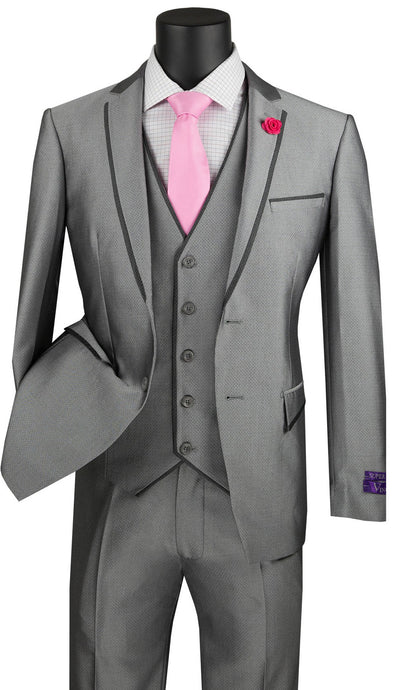 Vinci Men's Suit USVD-2