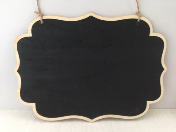 Portacraft Chalkboard Hanging Double Sided 260mm x 189mm